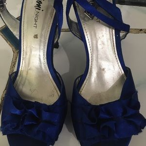 Fioni Night Shoes - Fioni Night Blue Heels